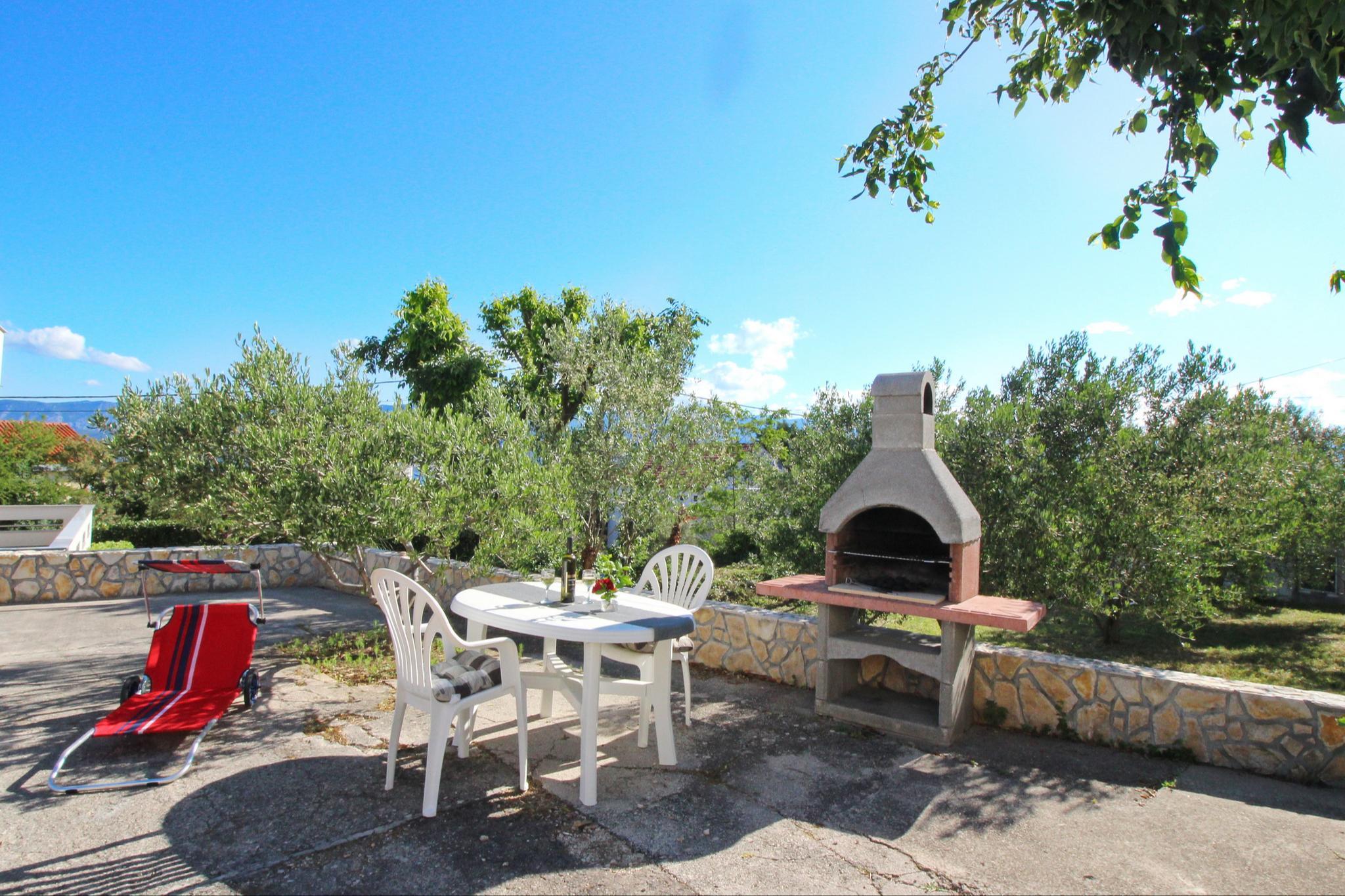 moderne wohnung f r 2 4 in polje mit meerblick haustiere erlaubt objekt nr 4691. Black Bedroom Furniture Sets. Home Design Ideas