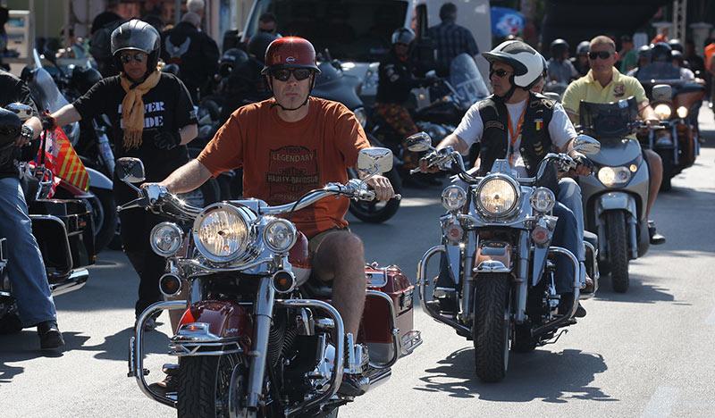 Harley Davidson Treffen Kroatien