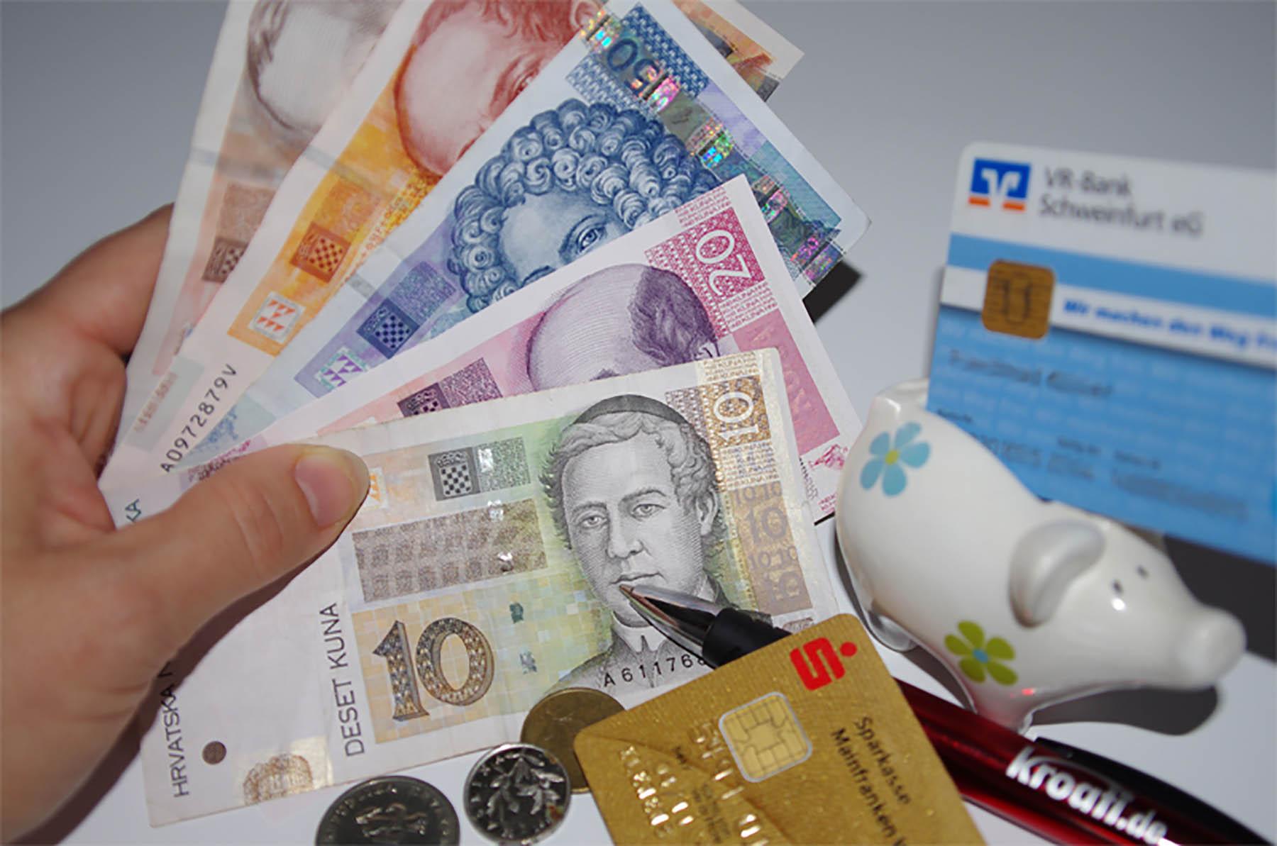 euro kroatien