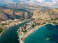 Omis - Dalmatien, Kroatien
