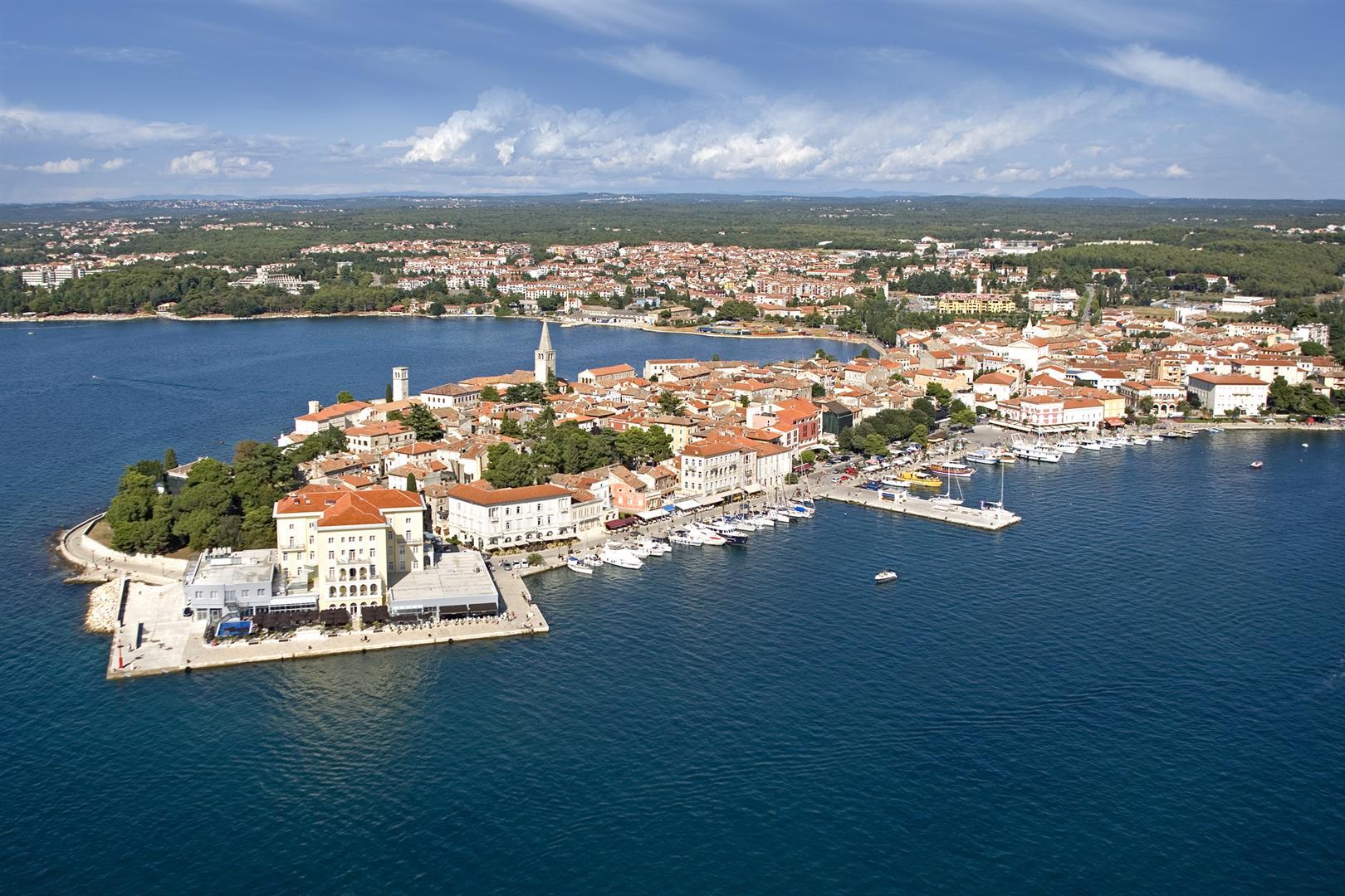 Porec Croatia  city photo : ... Altstadt des beliebten Urlaubsziels Porec in Istrien Kroatien