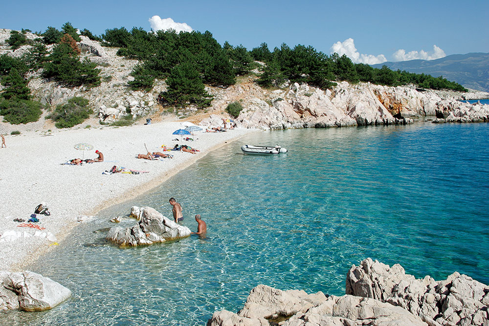 Krk Island Croatia Beaches